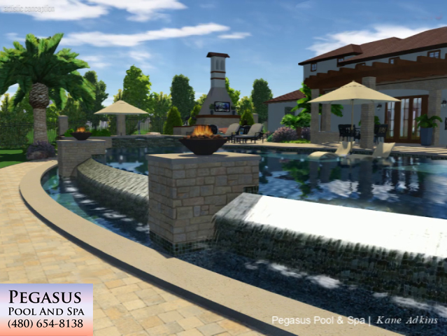 Pool Studio 3D Design Example 2