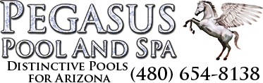 Pegasus Pool and Spa Logo