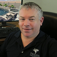 Mark Purney of Pegasus Pools